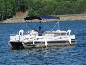 Blue Pontoon